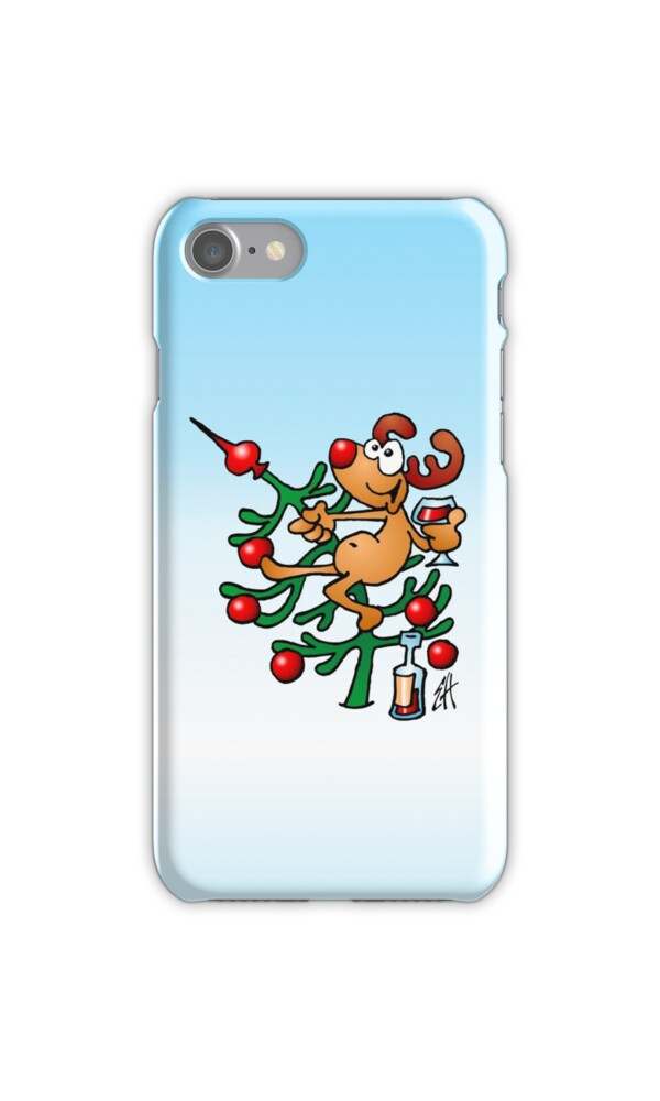 Quot Rudolph The Red Nosed Reindeer Quot Iphone Cases Amp Skins By