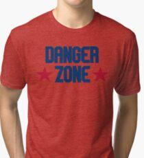 Danger Zone - Top Gun Tri-blend T-Shirt