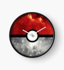 Pokéball Galaxy Clock