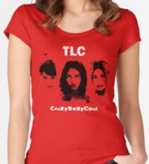 TLC CrazySexyCool Women's Fitted Scoop T-Shirt