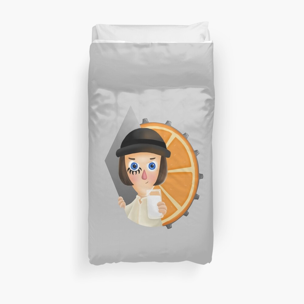 Milk - A Clockwork Orange Duvet Cover