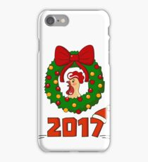 Cute Rooster. Happy New Year! iPhone Case/Skin
