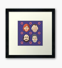 Phish with Fishman Donuts  Framed Print