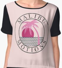 Black Mirror San Junipero Yorkie T-Shirt Chiffon Top