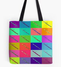 Colourful Bassoon Lover Tote Bag
