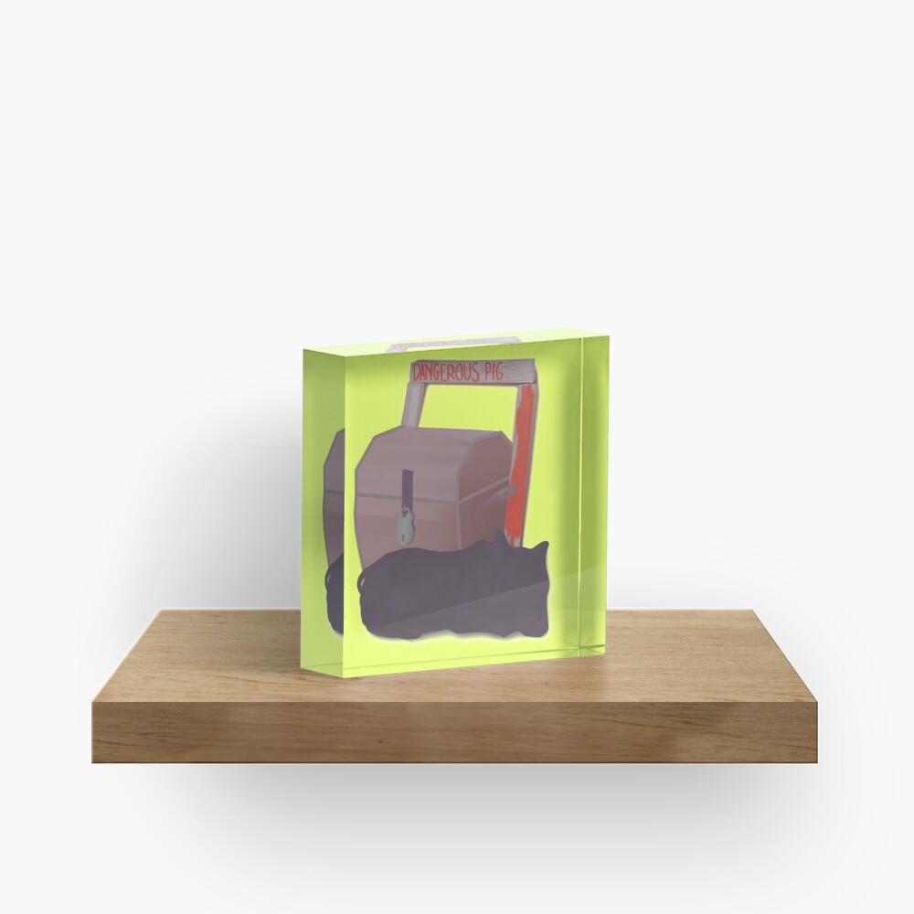 Couscous guardian Acrylic Block