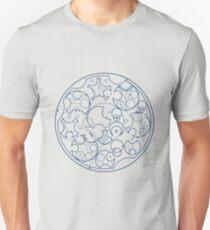Gallifreyan Sherlock (Blue Print) T-Shirt