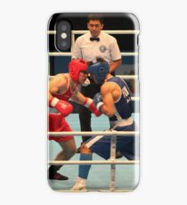 Boxing match World Championship's iPhone Case/Skin