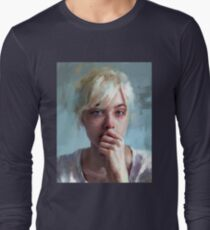 crying portrait T-Shirt