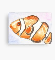 Clownfish Starts with C Canvas Print