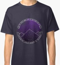 Look At The Stars And Wish   Night Court Classic T-Shirt