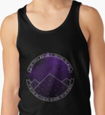 Look At The Stars And Wish | Night Court Tank Top