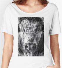 English Longhorn Bull Women's Relaxed Fit T-Shirt
