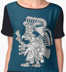Tezcatlipoca as an eagle or royal vulture Chiffon Top