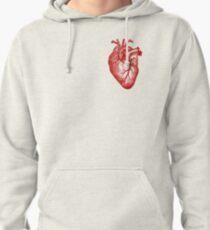 Sudadera con capucha Anatomía del corazón de la vendimia