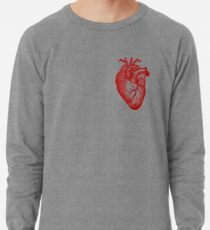 Vintage Heart Anatomy Lightweight Sweatshirt