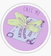 Call Me Ouija Board Sticker