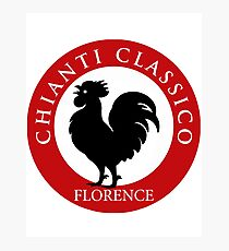 Black Rooster Florence Chianti Classico  Photographic Print