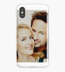 Gillian and David painting iPhone Case/Skin