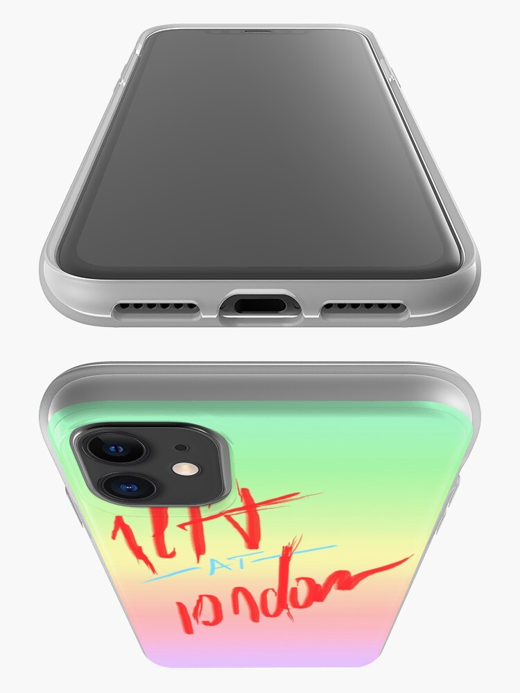 Alternate view of /@/ iPhone Case & Cover