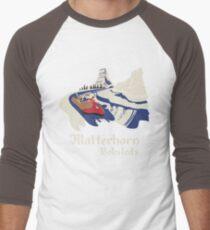 Matterhorn Bobsleds Men's Baseball ¾ T-Shirt
