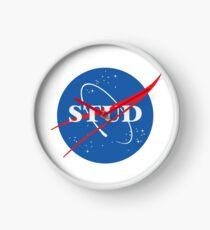 NASA Stud Clock
