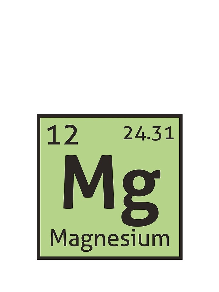 The periodic table magnesium contrast tank by destinysagent the periodic table magnesium by destinysagent urtaz Image collections