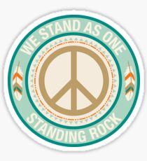 Standing Rock: We Stand As One Sticker
