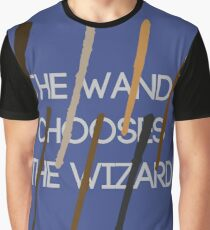 The Wand Chooses The Wizard Graphic T-Shirt