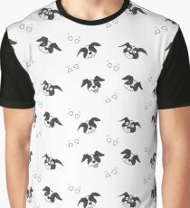 Dog Heads Graphic T-Shirt