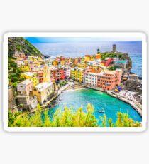 Vernazza, Cinque Terre Italy Sticker