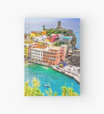 Vernazza, Cinque Terre Italy Hardcover Journal