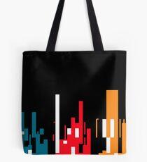 Skyline, Generative Art, Data Visualisation Tote Bag
