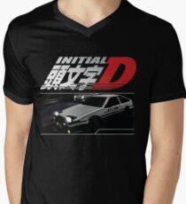 Initial D Men's V-Neck T-Shirt