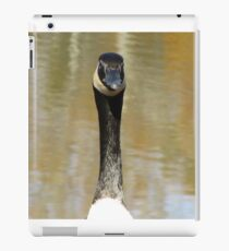 looking at the lens iPad Case/Skin