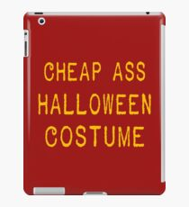 Halloween costume T-shirt Funny tshirt cool T-Shirt Tee Shirt 80s movie shirt geek shirt also available on crewnecks and hoodies SM-5XL iPad Case/Skin