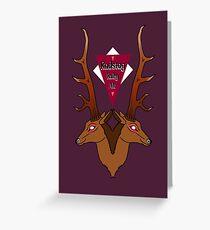 Radstag Ruby Ale Greeting Card