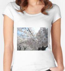 Sakura - 23 Women's Fitted Scoop T-Shirt