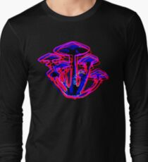 Neon Shrooms Long Sleeve T-Shirt