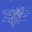 City Blueprints (Boston) by Dylan Morang
