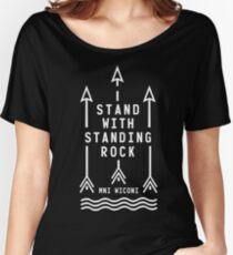 Shailene Woodley - Official Standing Rock Shirt Women's Relaxed Fit T-Shirt
