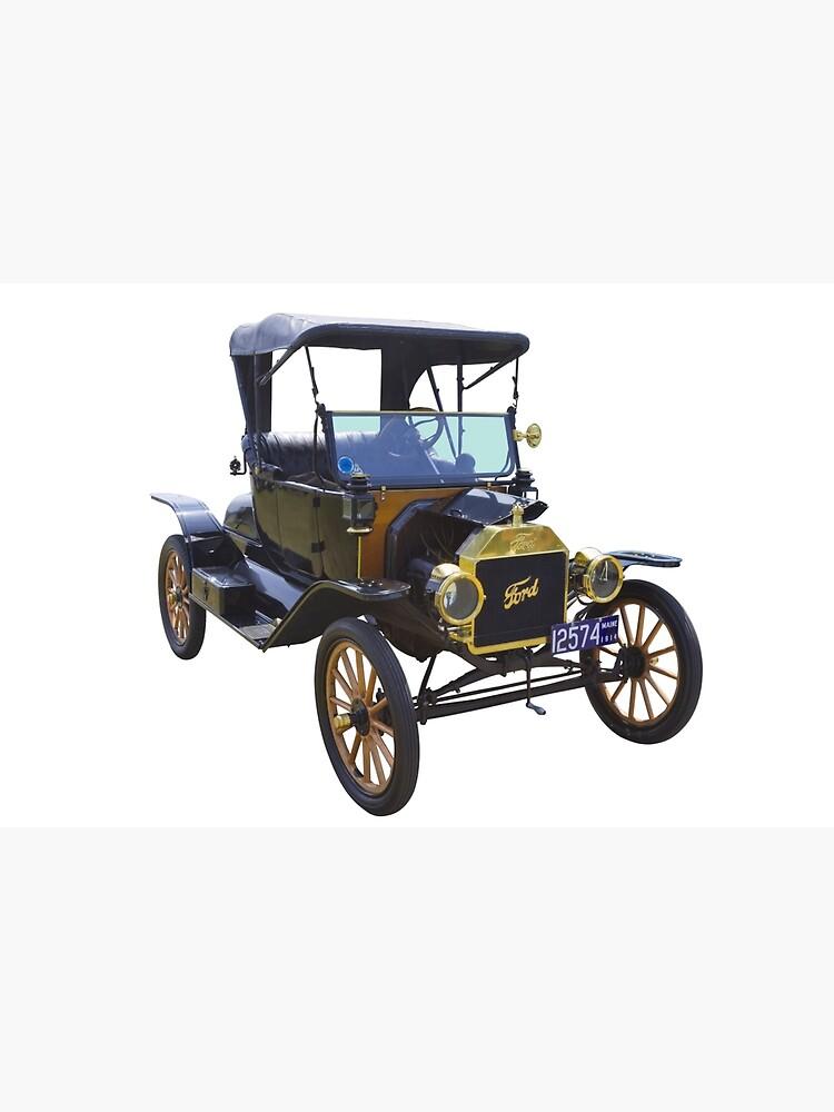 1914 Model T Ford Antique Car von KWJphotoart