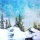 Christmas at Lake Tahoe 1A by Ed Moore