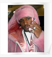 Cam'ron Pink Poster