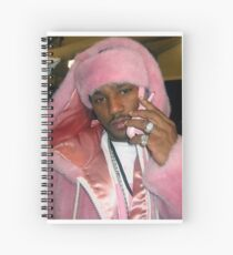 Cam'ron Pink Spiral Notebook