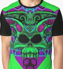 Sorcerer's Skull Graphic T-Shirt
