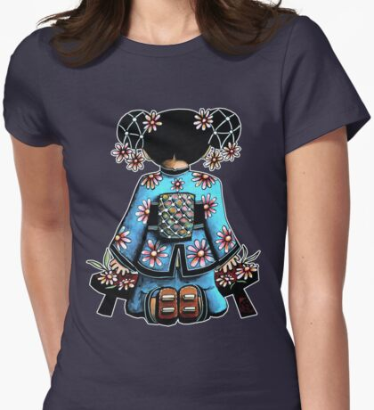 Asia Blue Doll (large design) T-Shirt