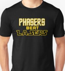 Phasers Beat Lasers T-Shirt