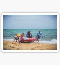 Surf Rescue Sticker