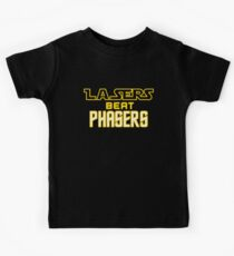 Lasers Beat Phasers Kids Clothes